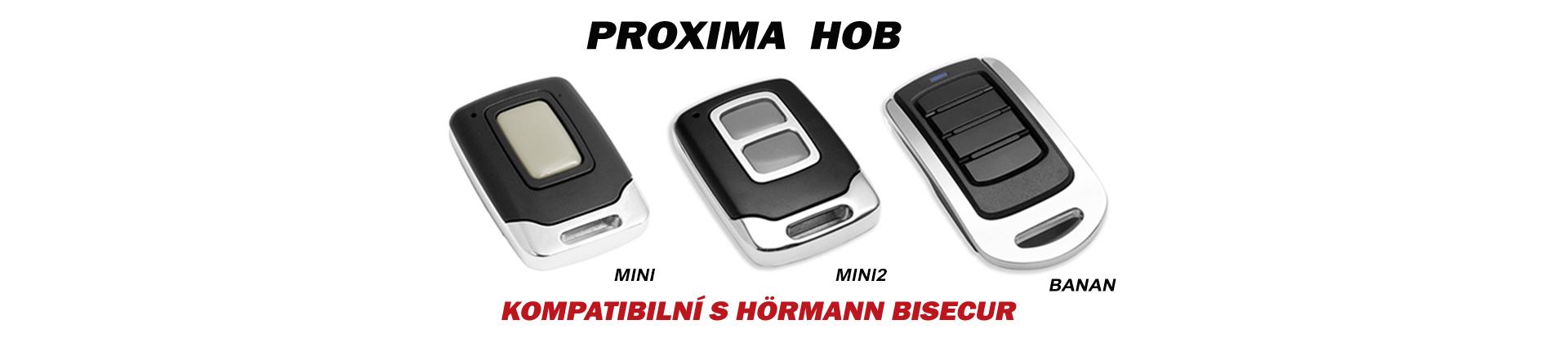 Proxima HOB MINI, MINI2, BANAN - Hörmann BiSecur