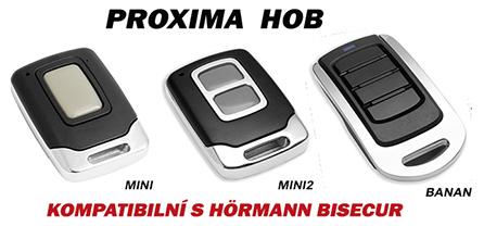 Dálkové ovladače Proxima HOB