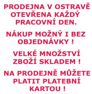 Prodejna Ostrava otevřena každý pracovní den