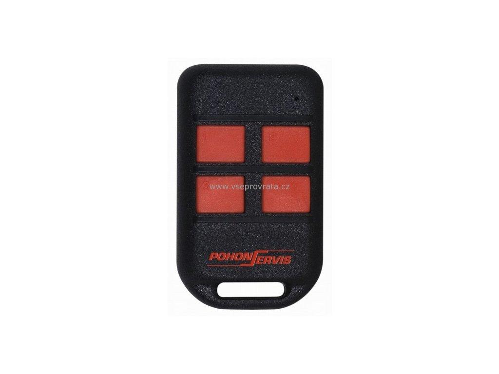 Pohonservis TX4k HR dálkový ovladač pro vrata a brány