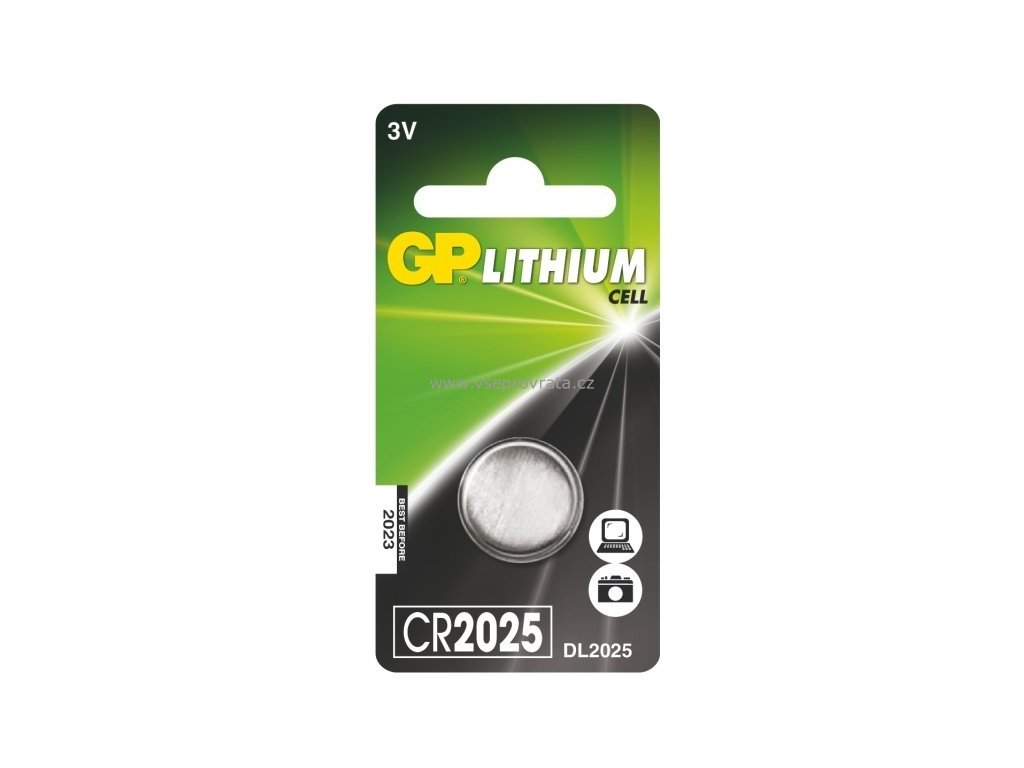 GP CR2025, 3V