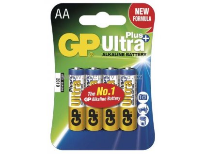 baterie gp 15aup ultra plus alkaline r6 aa blistr 4ks