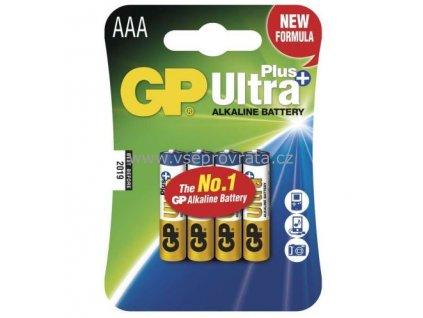 baterie gp 24aup ultra plus alkaline r03 aaa blistr 4ks