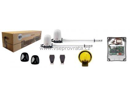 KEY PS200 KCE pohon dvoukřídlé brány