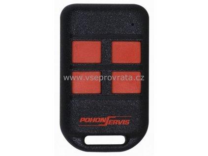 Pohonservis TX4k dálkový ovladač pro vrata a brány