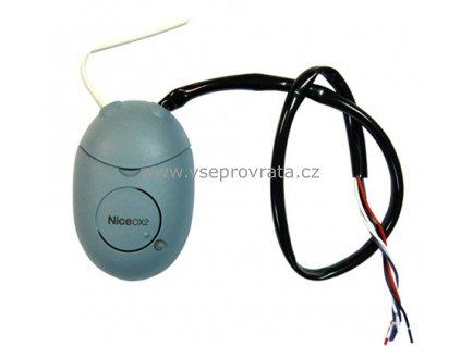 Nice OX2, 2 kan. 433,92 MHz přijímač dálkového ovládání