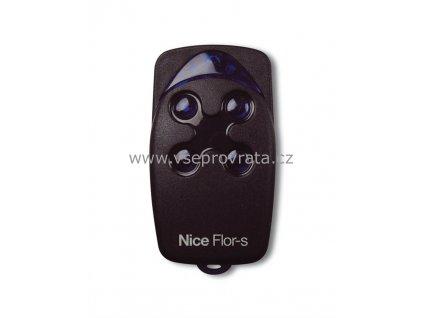Nice FLO4R dálkový ovladač pro vrata a brány