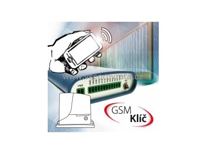 GSM Klíč Home 2 P modul pro ovládání vrat a bran