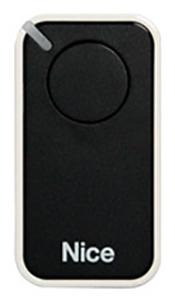 Nice INTI 1 dálkový ovladač pro vrata a brány Barva: Černá