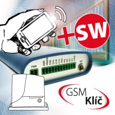 GSM Klíč Profi 2 P modul pro ovládání vrata a bran