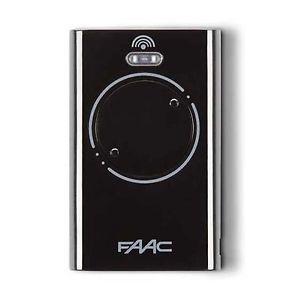 FAAC XT2 433 SLH LR, dálkový ovladač pro vrata a brány Barva: Černá