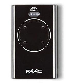 FAAC XT4 868 SLH LR black, dálkový ovladač pro vrata a brány