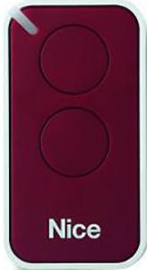 Nice INTI 2 dálkový ovladač pro vrata a brány Barva: Červená