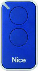 Nice INTI 2 dálkový ovladač pro vrata a brány Barva: Modrá