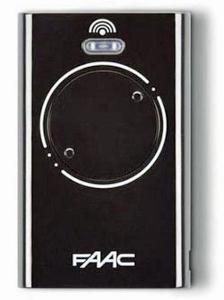 FAAC XT2 868 SLH LR, dálkový ovladač pro vrata a brány Barva: Černá