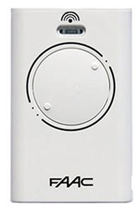FAAC XT2 868 SLH LR, dálkový ovladač pro vrata a brány Barva: Bílá
