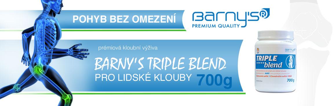 BARNY'S TRIPLE BLEND PRO LIDSKÉ KLOUBY 700G