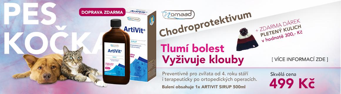 Artivit 500ml (vyživuje klouby, tlumí bolest)