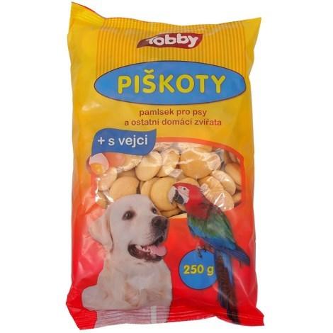 Piškoty a suchary pro psy