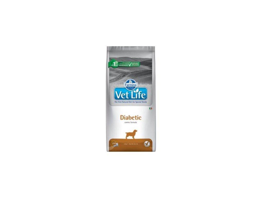 vet life natural dog diabetic 12kg