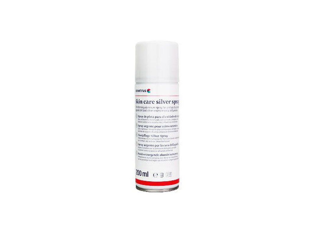 aluminium silver spray skin care cvet 200 ml