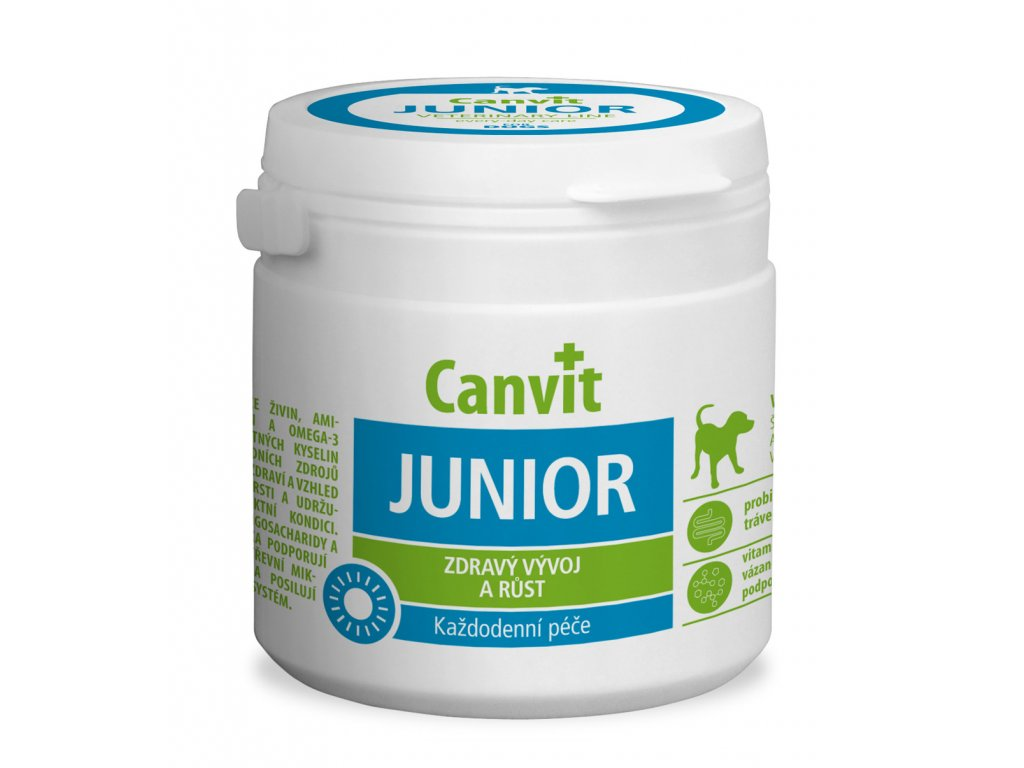 Canvit Junior 100g (100tbl)