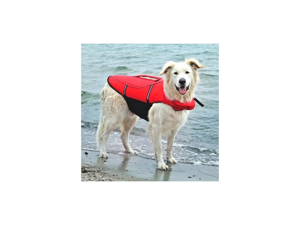 záchranná vesta pro psa
