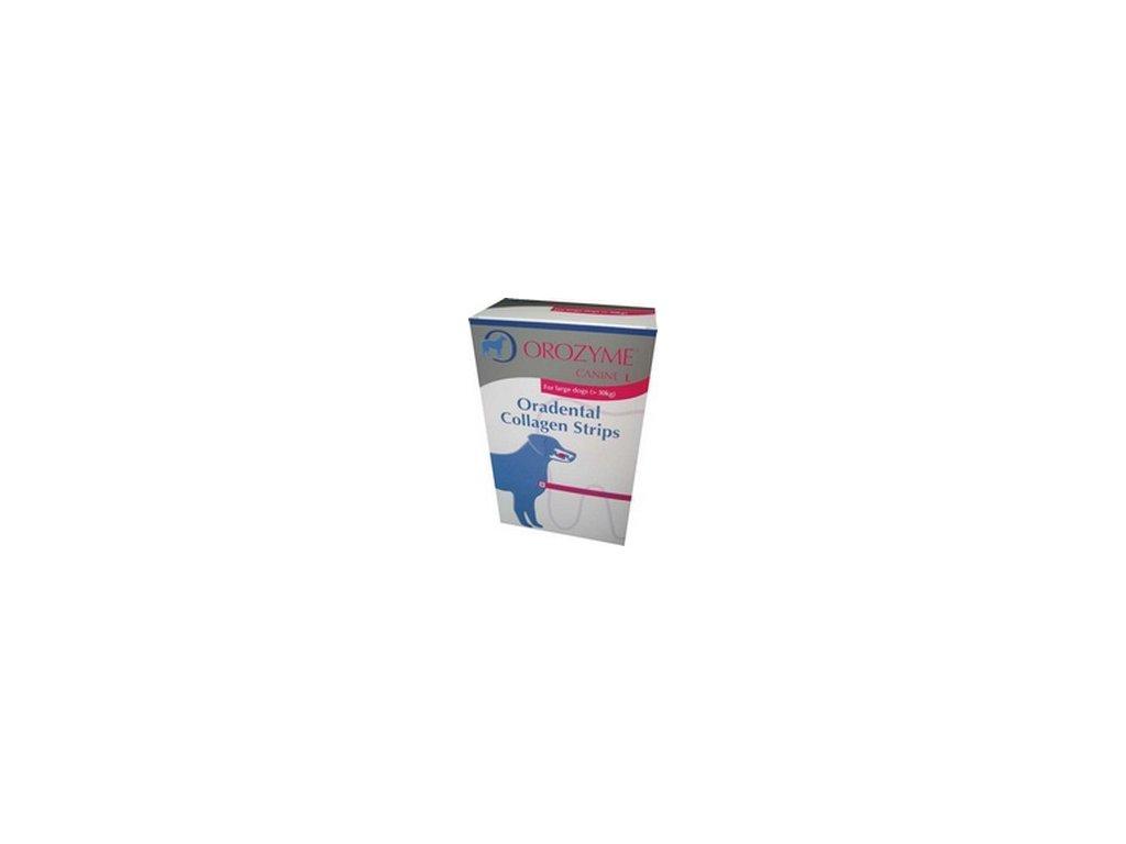 Orozyme enz. plátky žvýkací pro psy S (30ks)