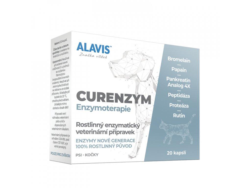 alavis enzymoterapie curenzym pro psy a kocky 20cps