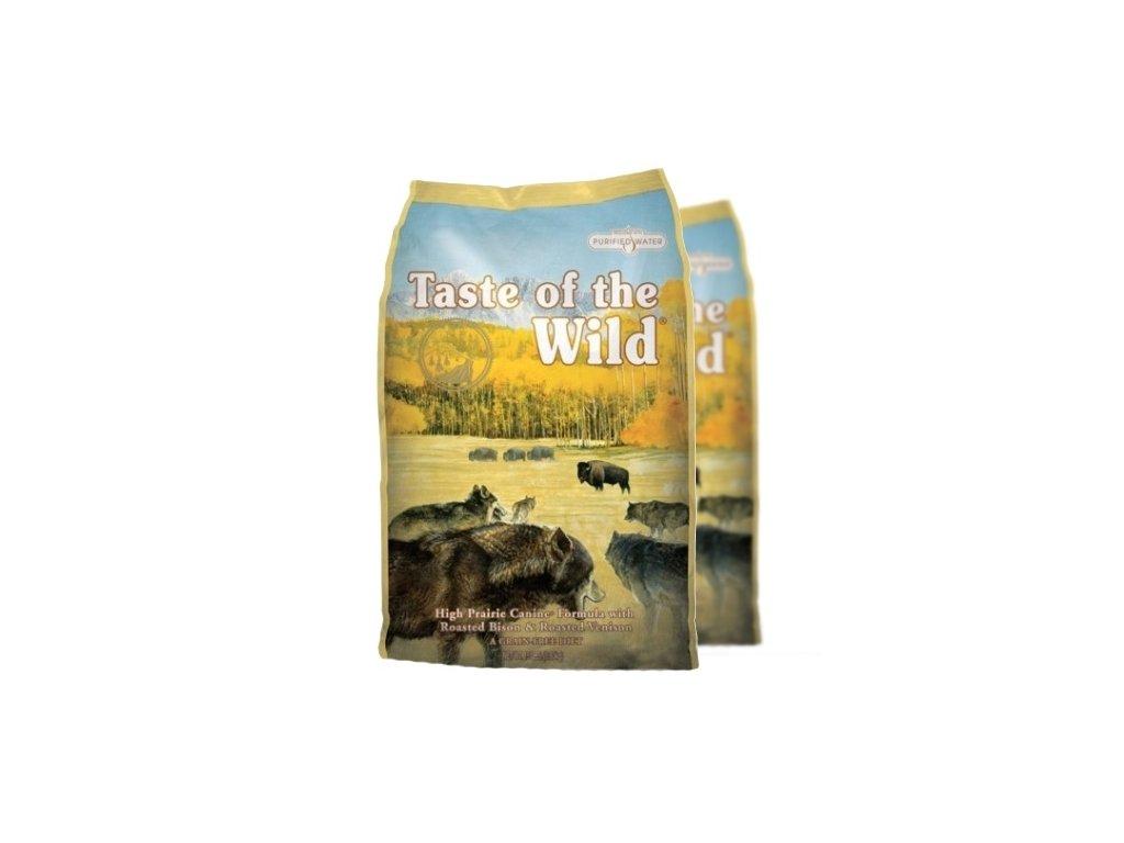 Taste of the Wild High Praire 2x12,2 kg