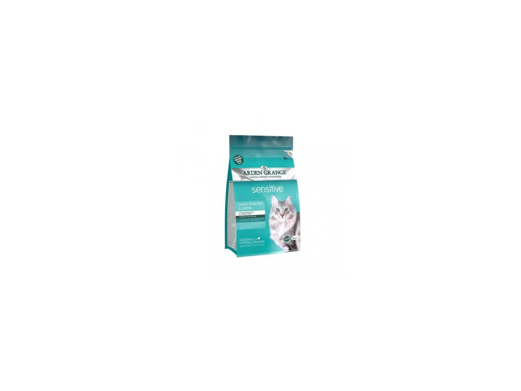 arden grange cat adult white ocean fish