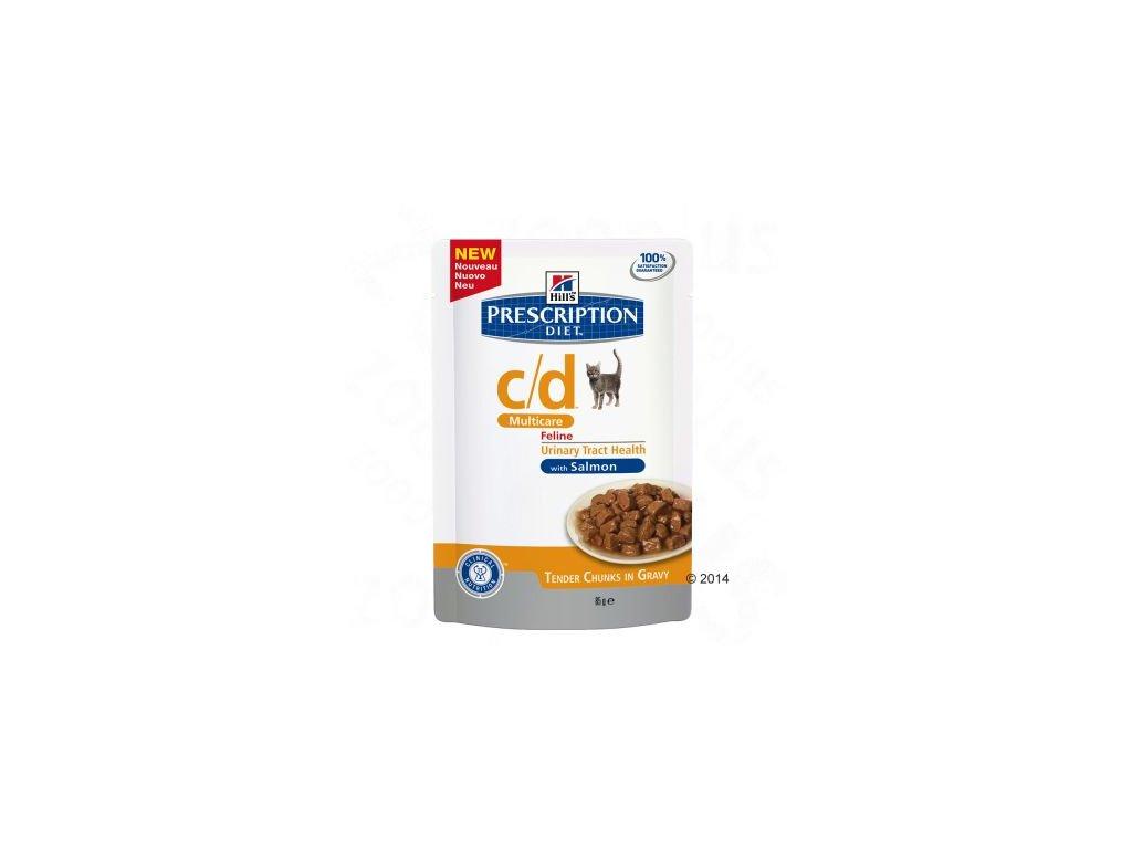 64706 pd cd multicare salmon 85g feline pouch 3