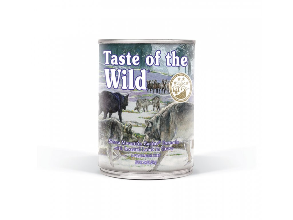 Taste of the Wild Sierra konzerva 375g