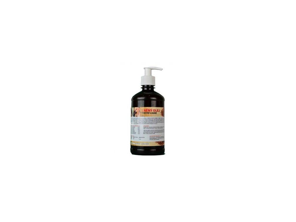lněný olej zeus 500ml