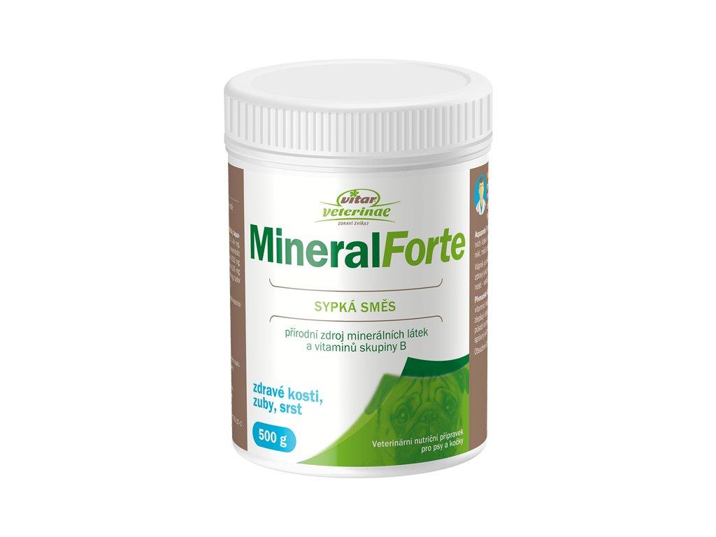 3D Mineral Forte 500g etiketa