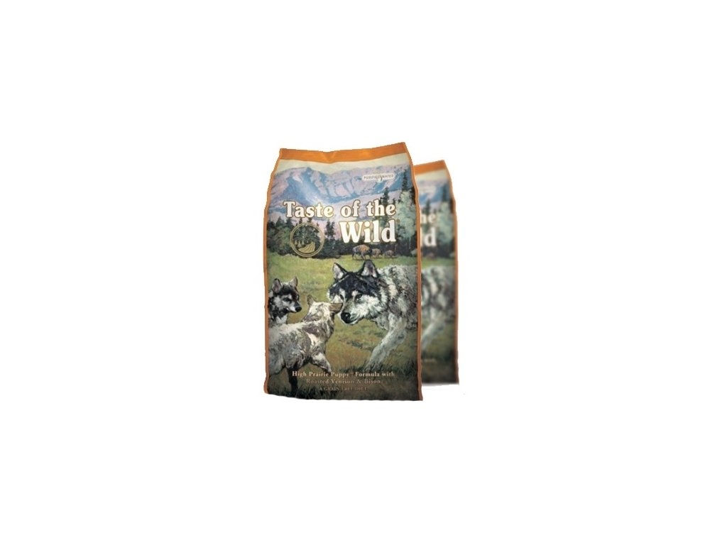 Taste of the Wild High Praire Puppy 2x12,2 kg