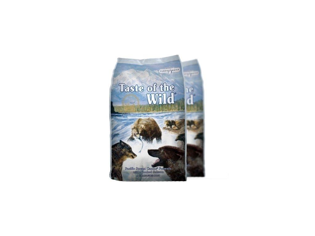 Taste of the Wild Pacific Stream 2 x 12,2 kg