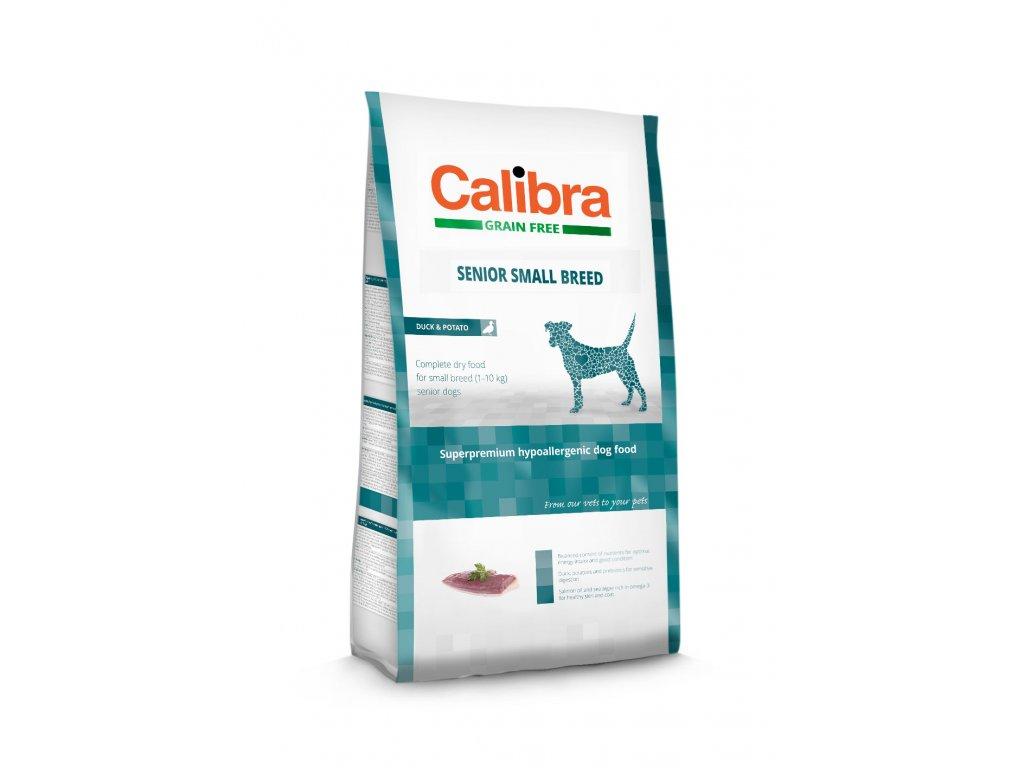 Calibra Grain Free Senior Small Breed / Duck & Potato 7kg