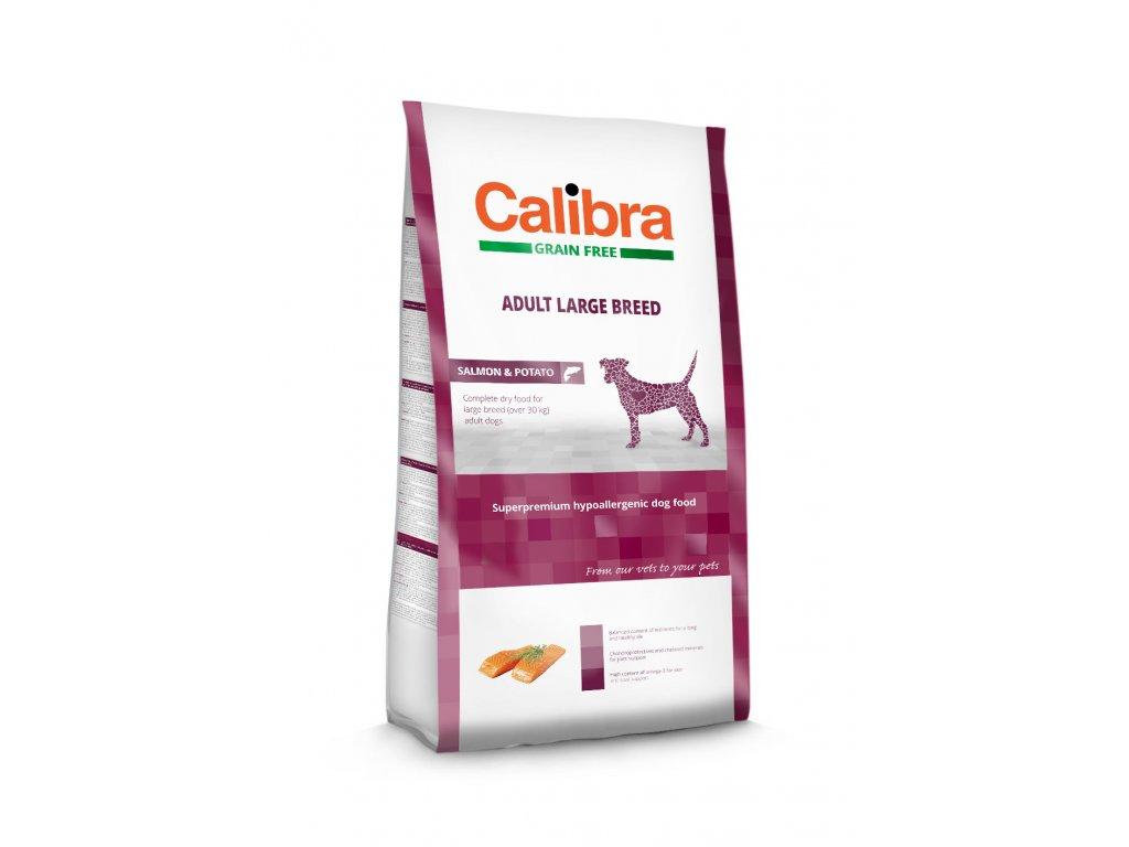 Calibra Grain Free Adult Large Breed / Salmon & Potato 2kg
