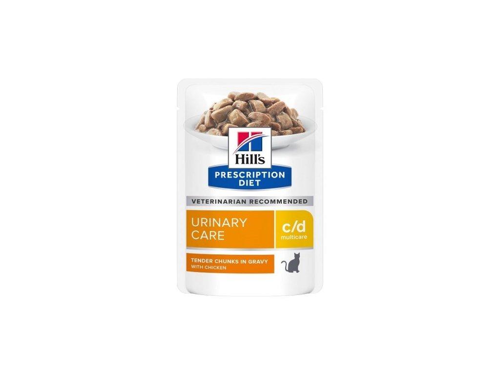 Hill's Feline C/D kapsička Chicken 12 x 85g