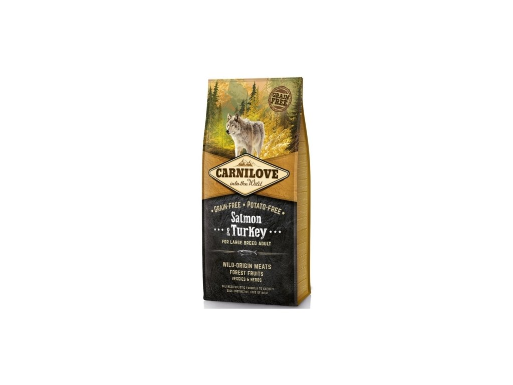 carnilove grain free for large breed adult 12kg