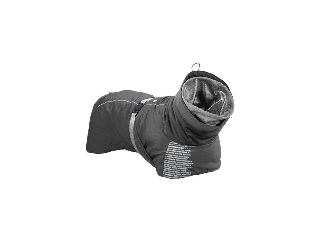 Obleček Hurtta Extreme Warmer šedý  DÁREK Hurtta šátek člověk / pes