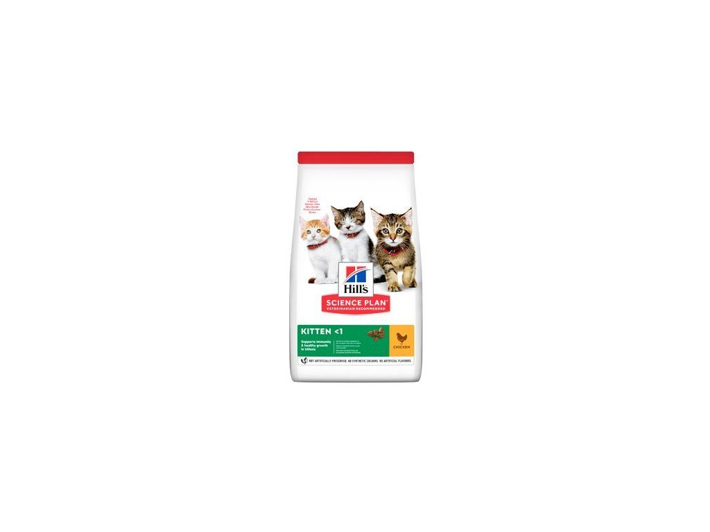 hill s fel dry kitten chicken 3kg