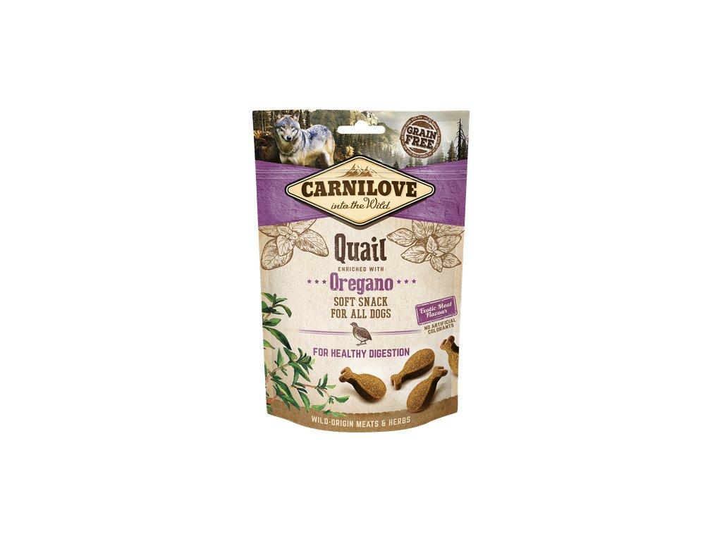 carnilove snacks dog quail and oregano 200g product large