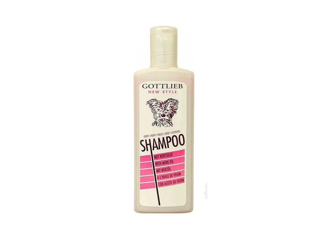 Šampon Gottlieb s makadamovým olejem štěně 300ml