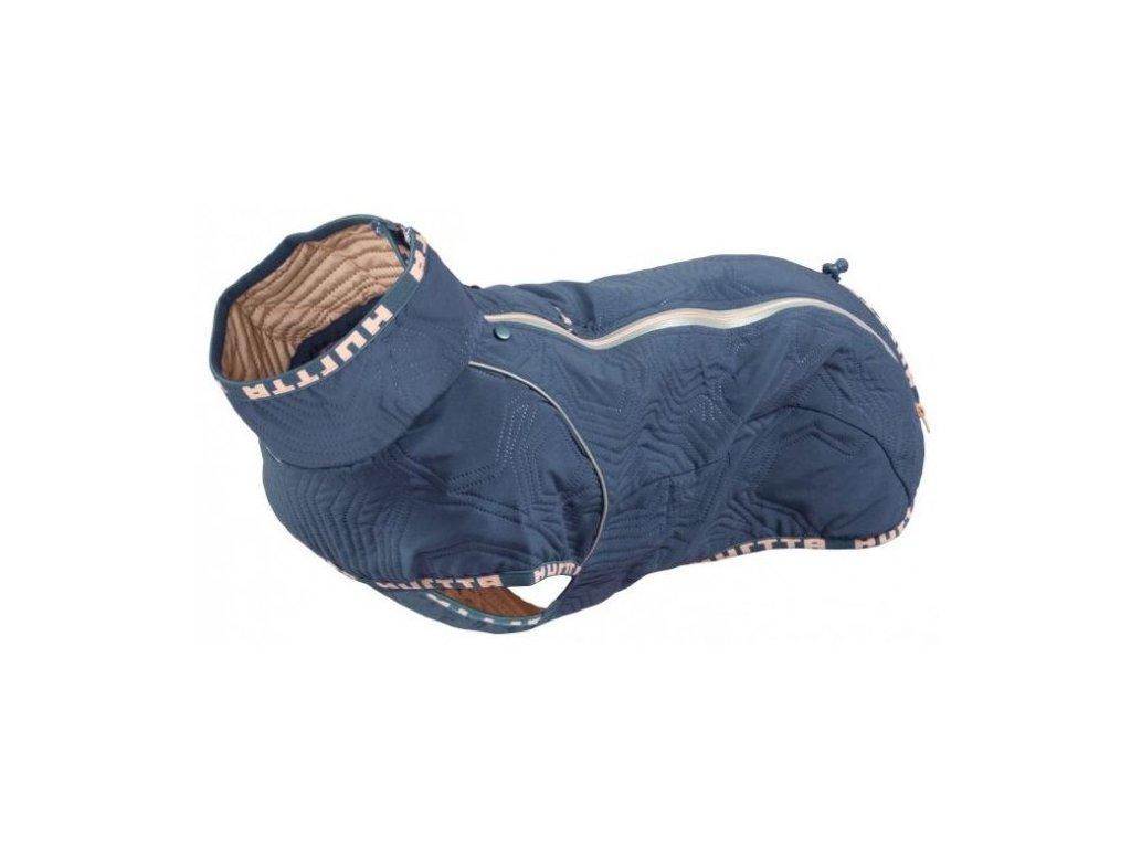 Obleček Hurtta Casual prošívaná bunda modrá