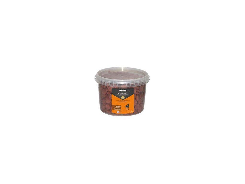 Fitmin pochoutka pro koně kroketky s mrkví 1kg