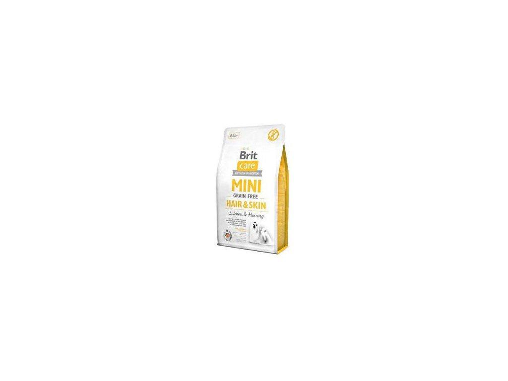 Brit Care Dog Mini Grain Free Hair & Skin 400g