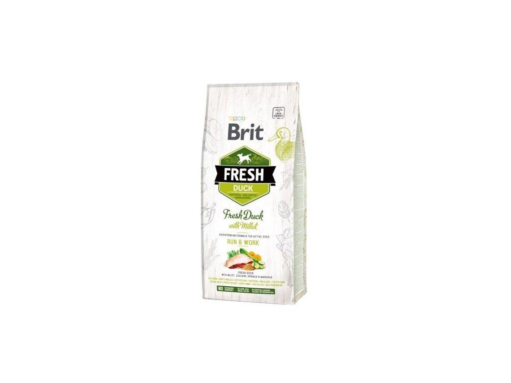 Brit Dog Fresh Duck & Millet Active Run & Work 12kg