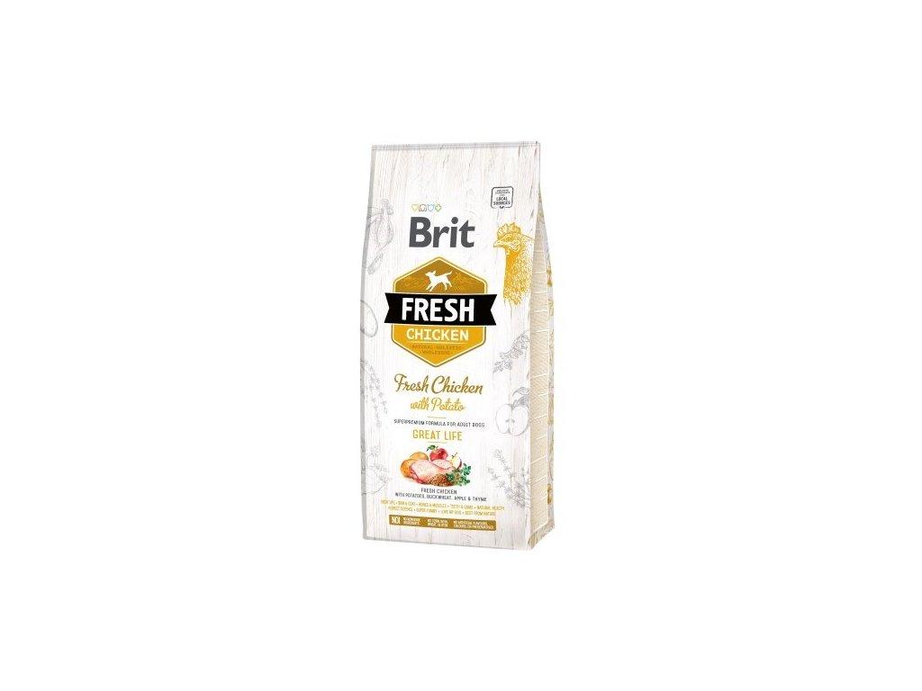 Brit Dog Fresh Chicken & Potato Adult Great Life 2,5 kg